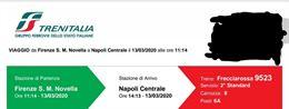 Frecciarossa Firenze - Napoli 13/03