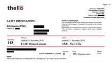 Biglietti treno Milano > Nizza > Milano (A/R)