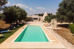 Trullo incanto con piscina in alto Salento valle d'itria