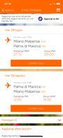 Volo Milano Malpensa - Palma di Maiorca