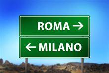 Italo Roma Milano A/R 12 e 13 gennaio