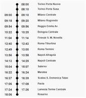 3 biglietti per il 2/08 Torino-Rosarno + 2 animali