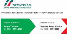 Roma - Verona del 24 gennaio