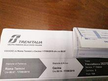 Biglietto Roma cecina