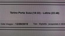 FrecciaRossa Torino - Roma 13/09